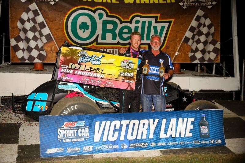 LEARY LOGS FIRST WIN FOR NEW TEAM IN WINTER DIRT GAMES X FINALE