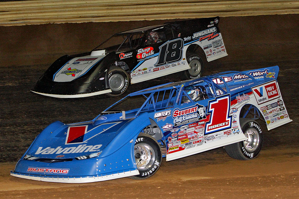 Jim DenHamer's photos from Duck River Raceway Park's World of Outlaw Late Model event - 3/22/19