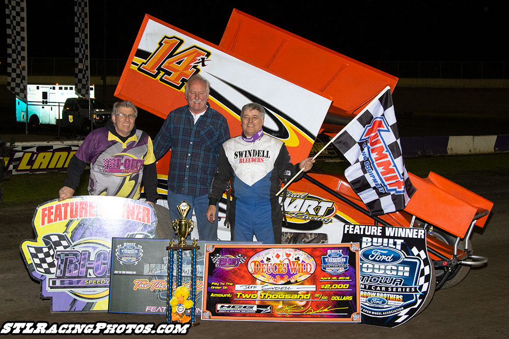Jeff Swindell, Bobby Pierce & Michael Long take Deuce's Wild wins at Tri-City Speedway