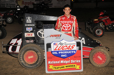 Kyle Larson - Lonnie Wheatley Photo