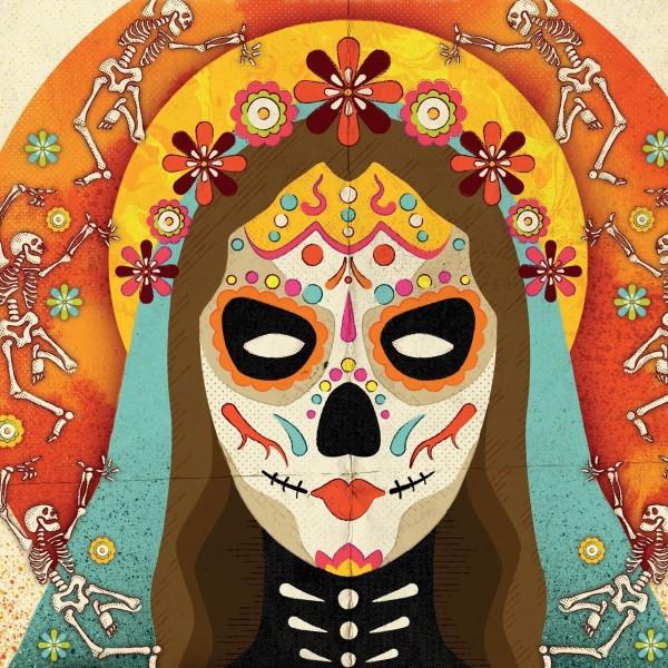 Artwork for Saint Lukes' party - www.stlukesglasgow.com