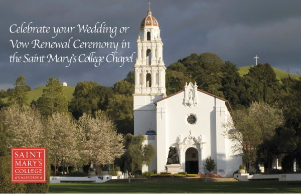 Your Wedding at SMC | Saint Mary's College