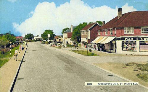 Jefferstone Lane, from a 1960s postcard