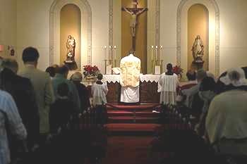Latin Tridentine Mass – St  Mary's by the Sea Roman Catholic