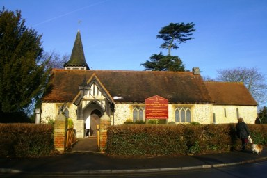 St Mary the Virgin Chessington - Front View 3
