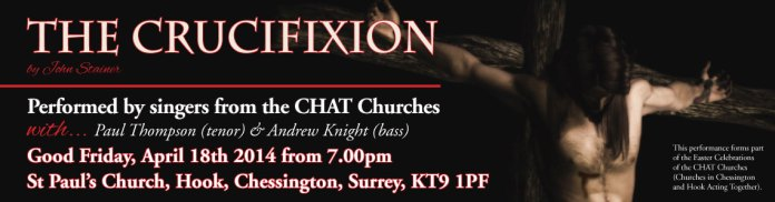 Event image for The Crucifixion by John Stainer