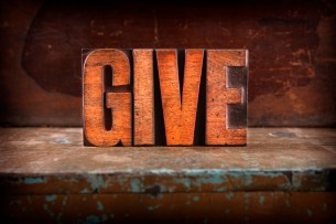 Image of the word Give