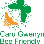 Image: Bee Friendly award / Gwobr Caru Gwenyn