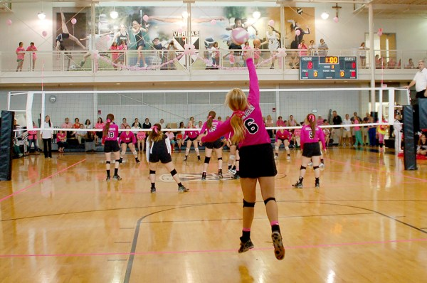 Pink Volleyball Game & Pep Rally - St. Mary's Dominican ...