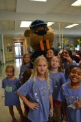 Boudreaux Visits Camp!