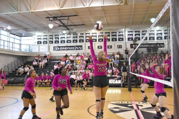Pink Pep Rally and Volleyball Game - St. Mary's Dominican ...
