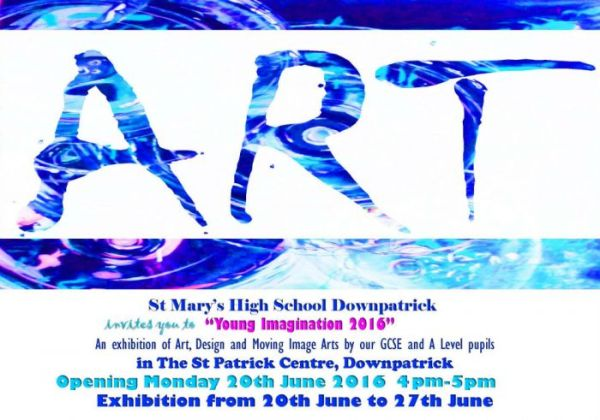 St. Mary's High School invites you to visit our Art ...