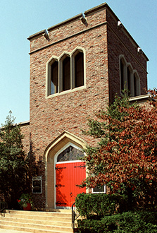 Front door of St. Mary's