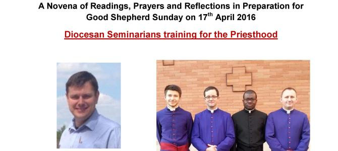 Nine Days of prayer for our Shepherds A Novena of Readings
