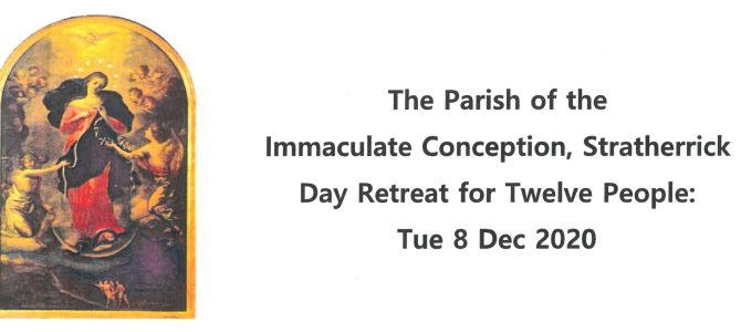 DAY  RETREAT  FOR  TWELVE  PEOPLE