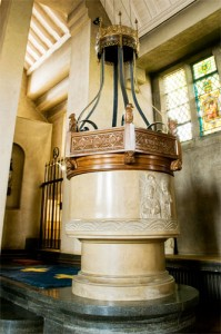 Font at St Mary's