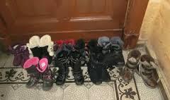 empty shoes Nicholas