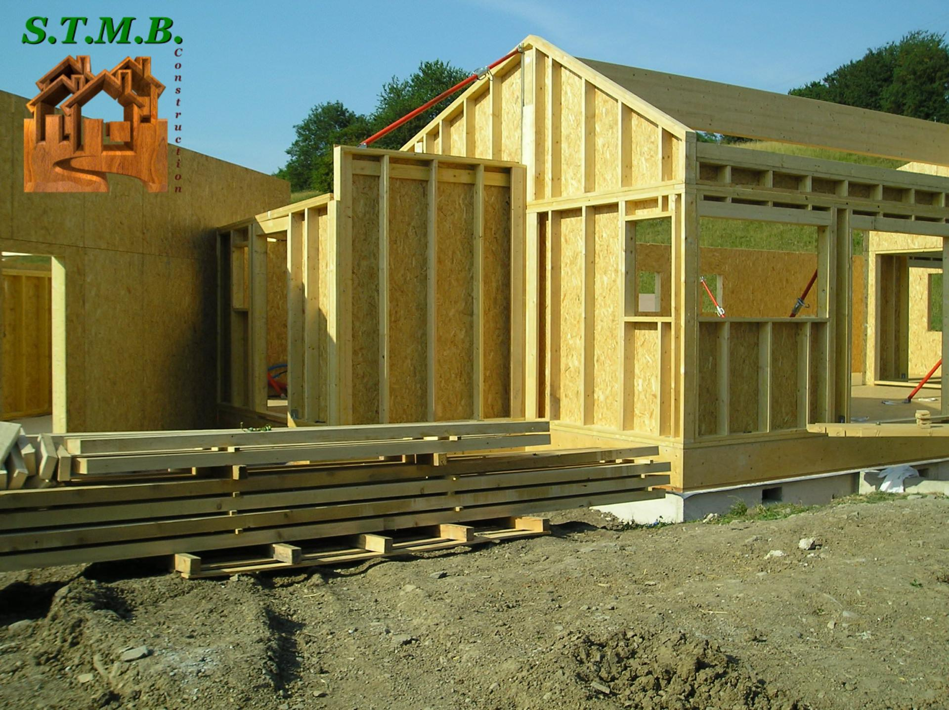 Constructeur Ossature Bois Et Maison En Bois STMB