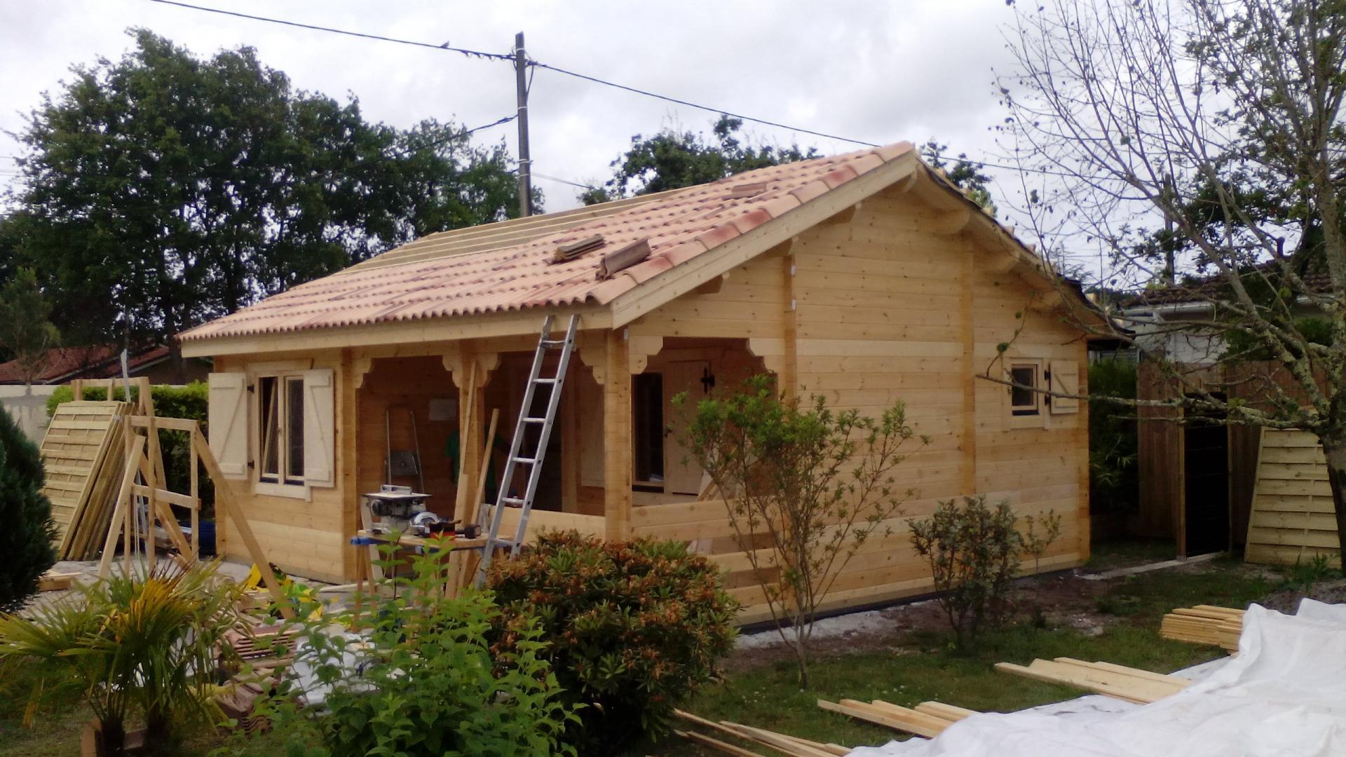 maison de jardin et chalet habitable