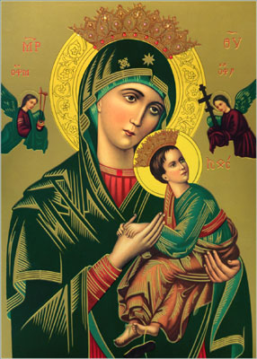 icon of Our Mother of Perpetual Help