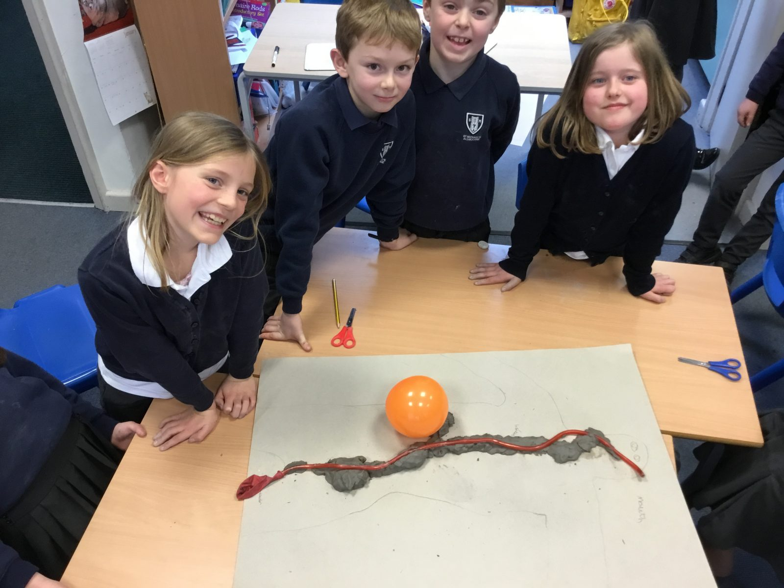 Year 4 S Make Digestive System Diagrams St Michael S