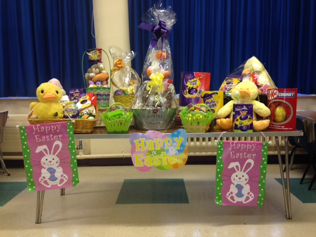 Easter raffle prizes