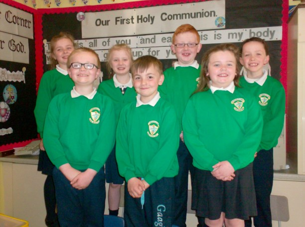 2015/16 First Communicants