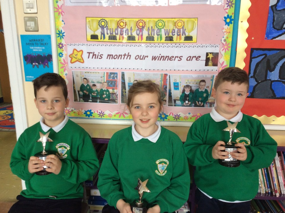 2016/17, Star Pupil Awards - 3rd April