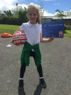 2016/17, Burns Soccer School - Player of the Week P1-P3 Category