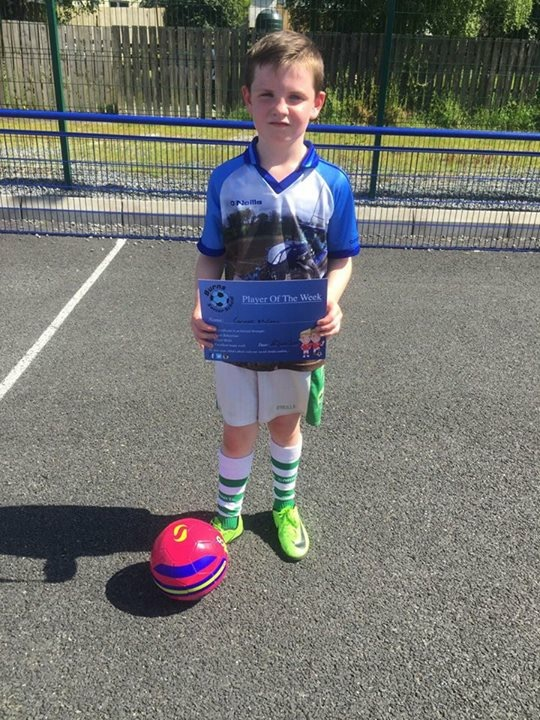 2016/17, Burns Soccer School - Player of the Week