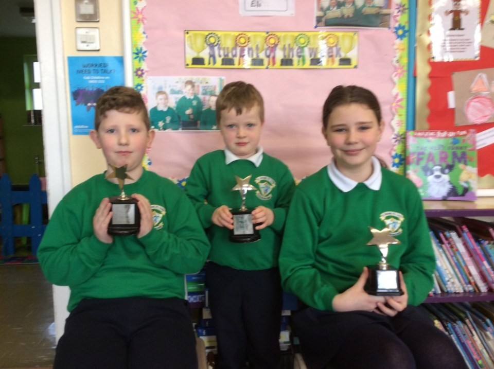 2017/18, Star Pupil Awards - 5th February