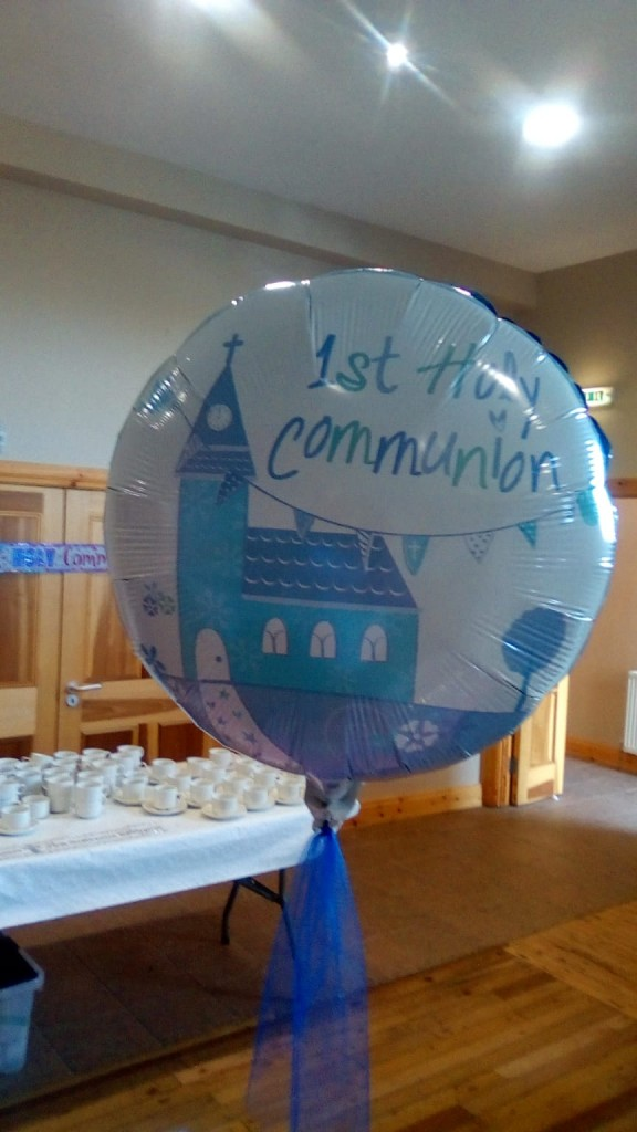 ? Reception for First Communicants