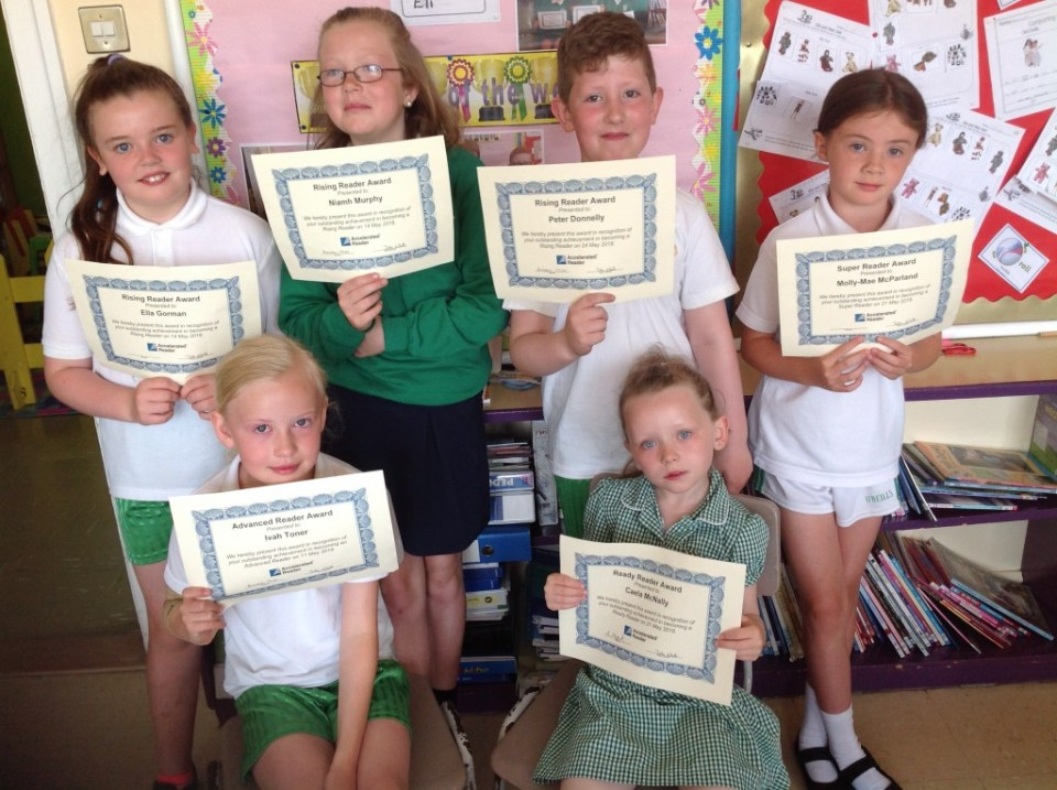 ? Accelerated Reading Awards - 25 June 2018