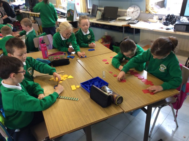 2018/19, P4 & P5 Learning about Symmetry