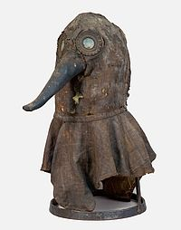 Plague Doctor's Mask Courtesy of| German Museum of Medical History in Ingolstadt.