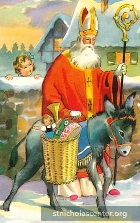 St Nicholas Center Who Travels With St Nicholas