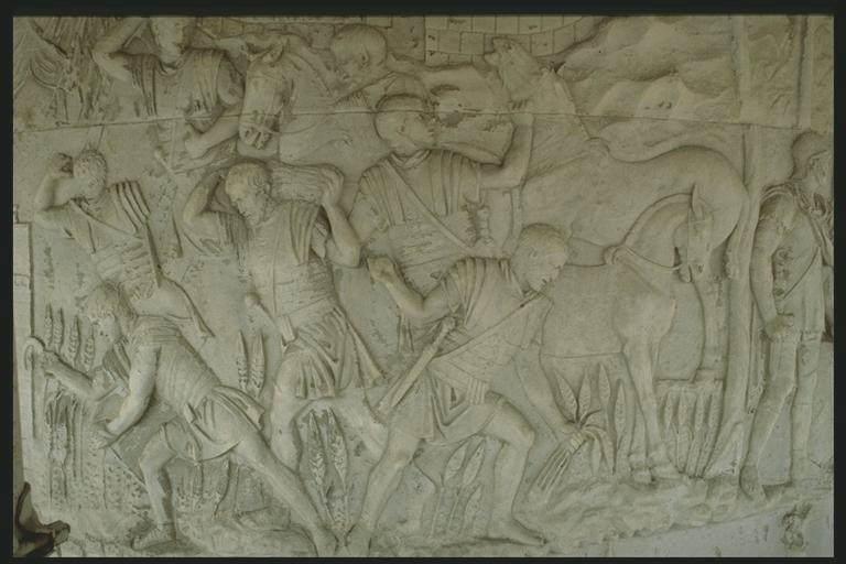 Scene from the Column of Trajan