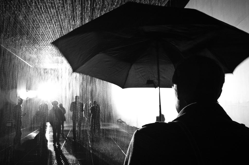Barbican's Rain Room photo by Lisa Bamford