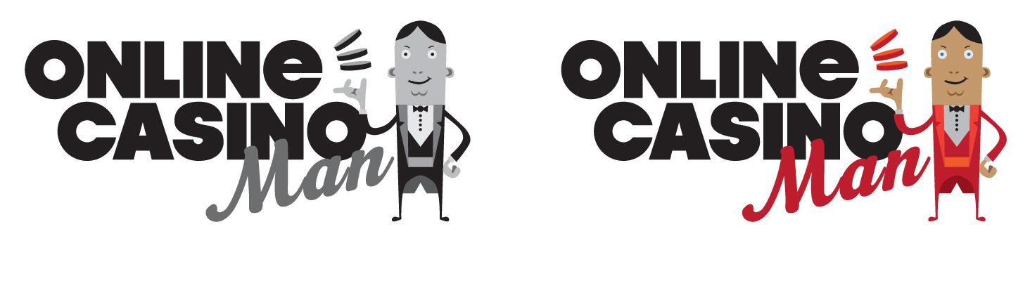 Logo design for Online Casino Man