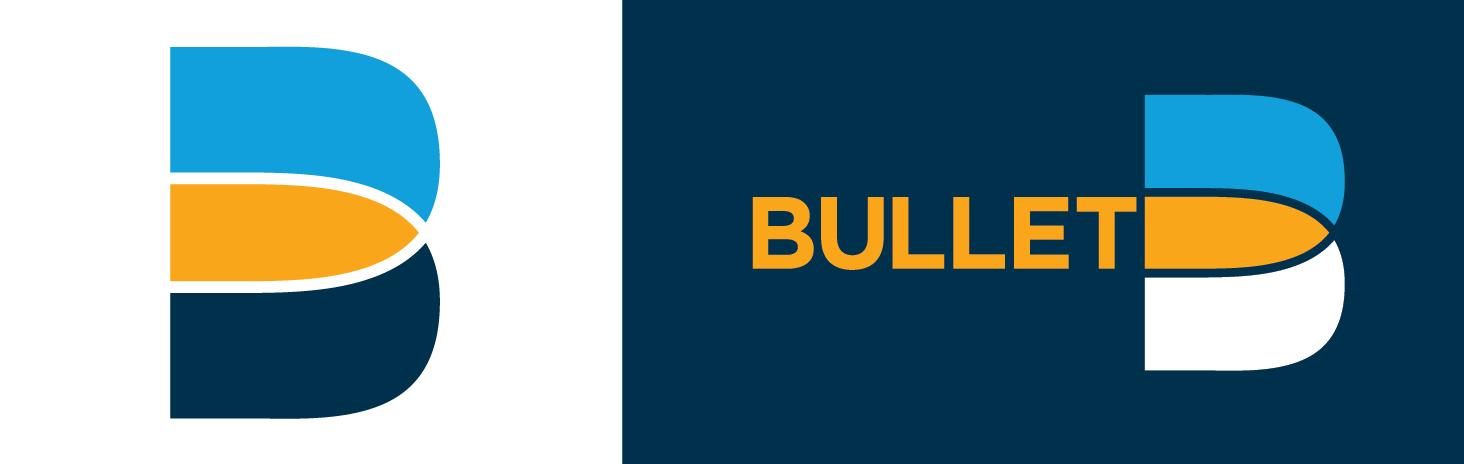Bullet phone app logo design