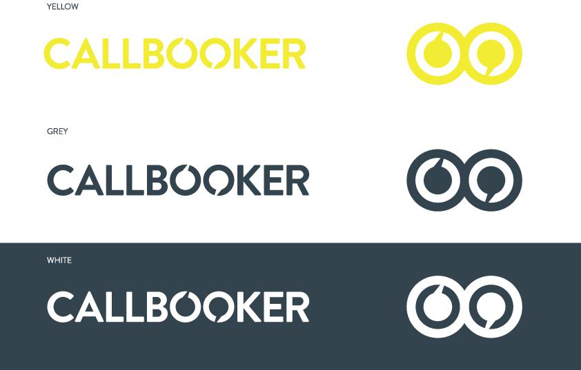 Callbooker logo design