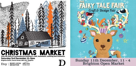 Christmas Fairs posters