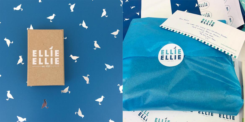 Ellie Ellie wrapping design work