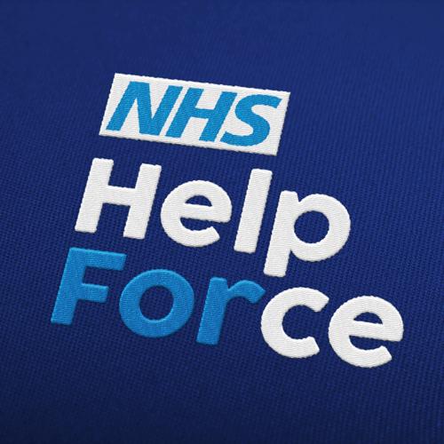 NHS HelpForce logo design