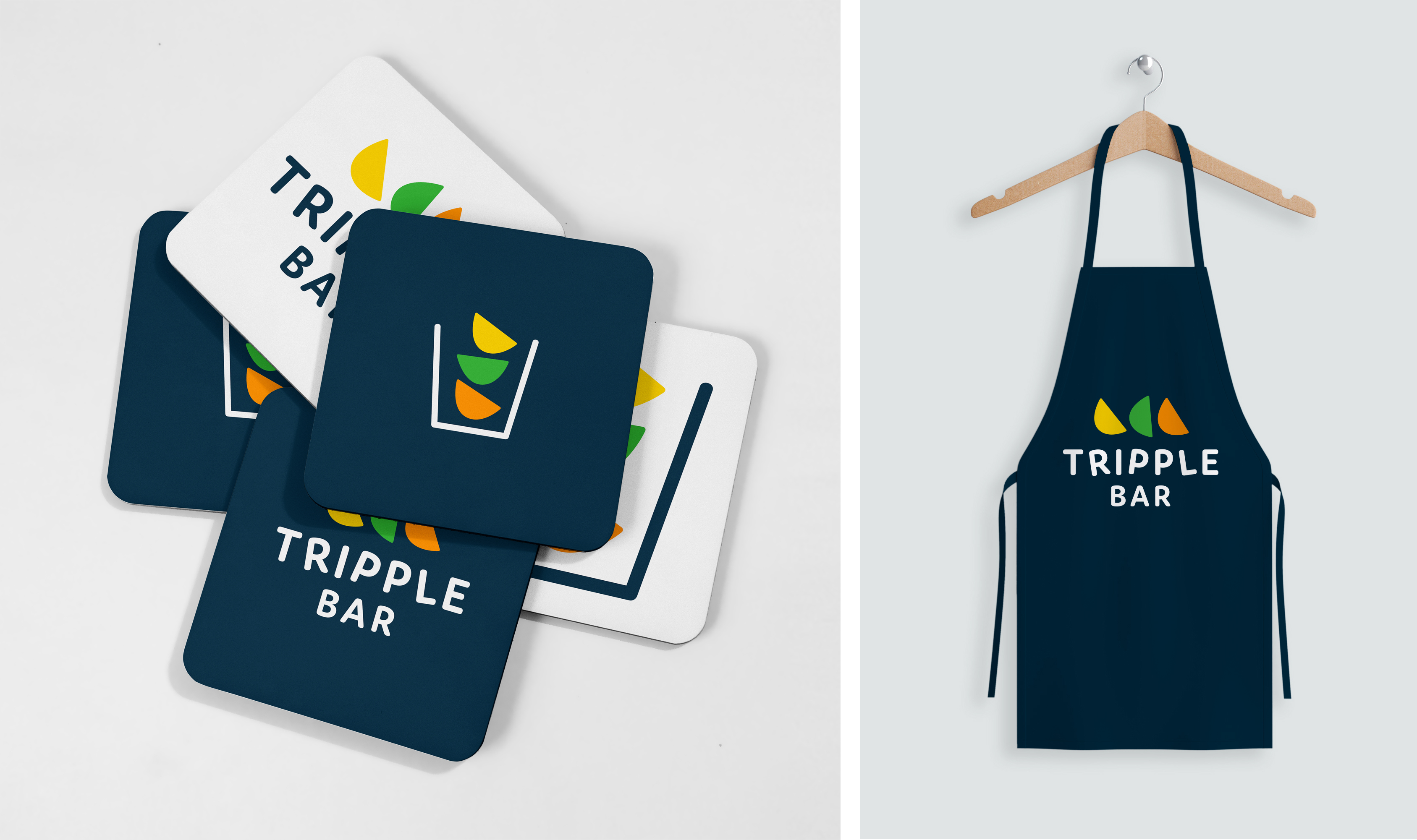 Tripple Bar logo design