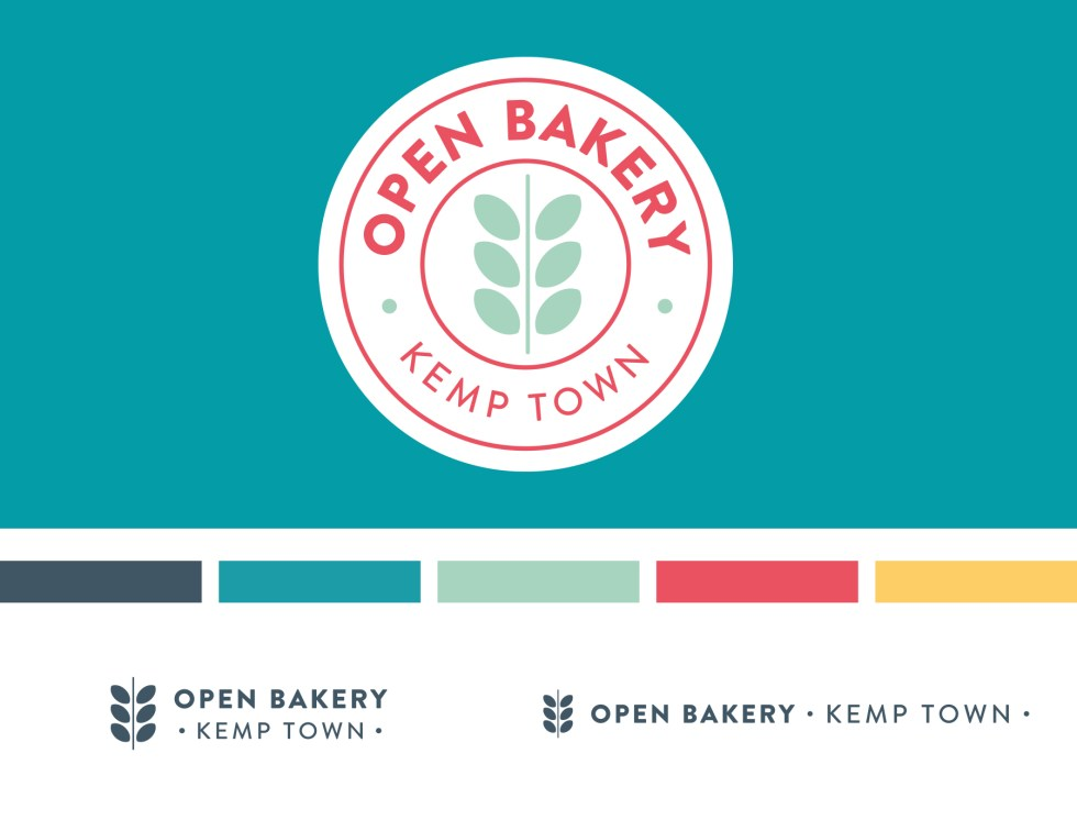 Open Bakery logo design