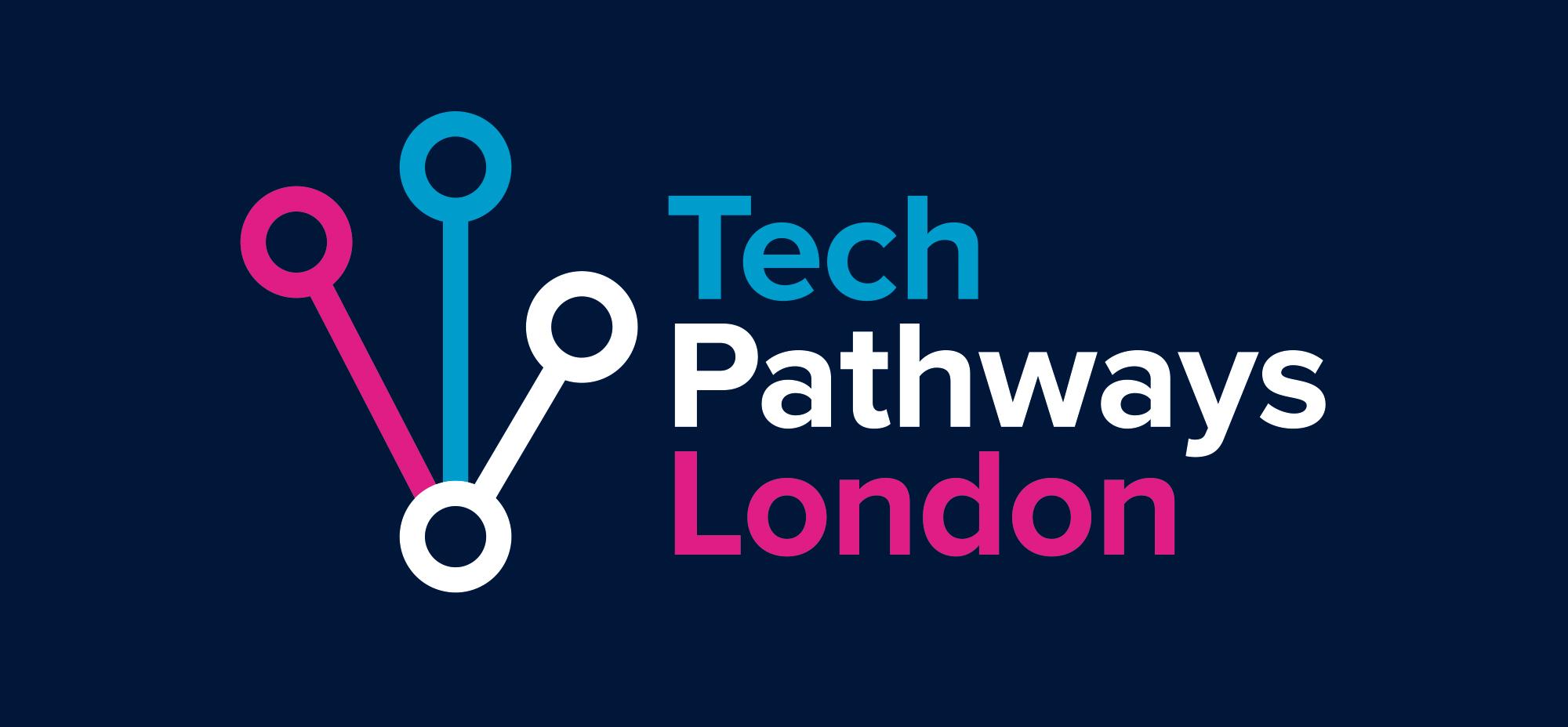 TechPathways logo design
