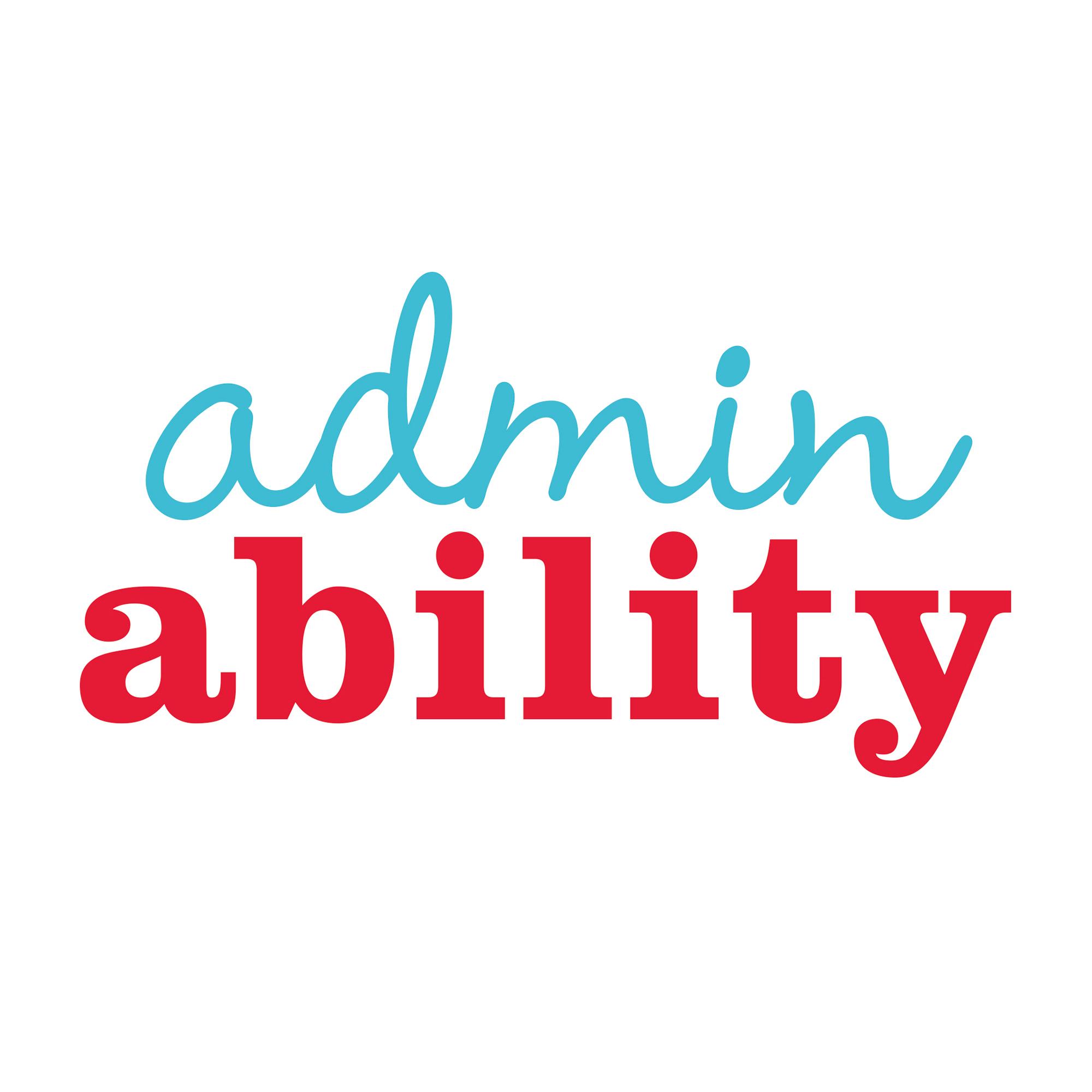 Logo design for Admin Ability