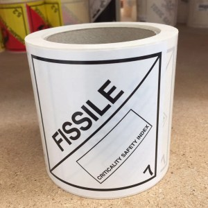 fissile label, fissile labels