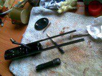 restaurar rifle de cerrojo